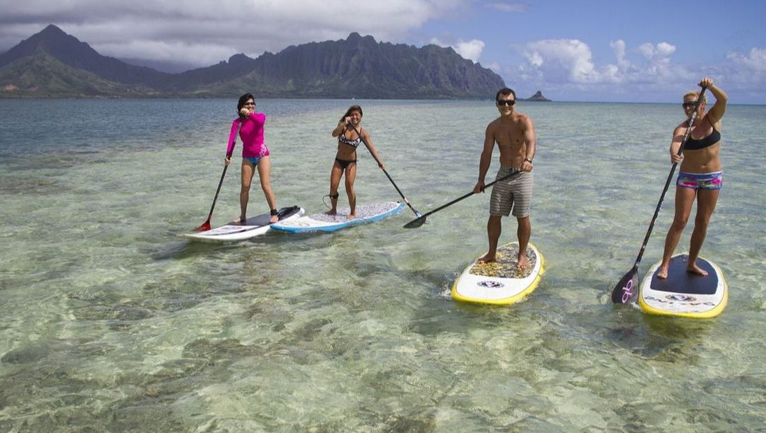 Guided SUP Lessons